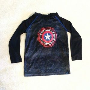 Marvel Captain America and Iron Man Hoodie